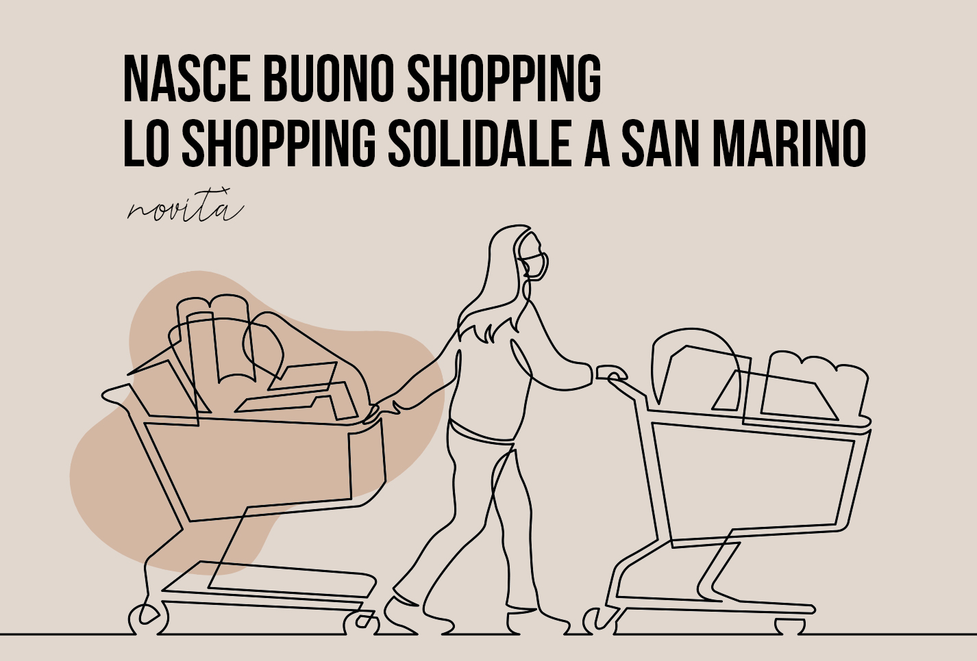 Lo shopping solidale a San Marino