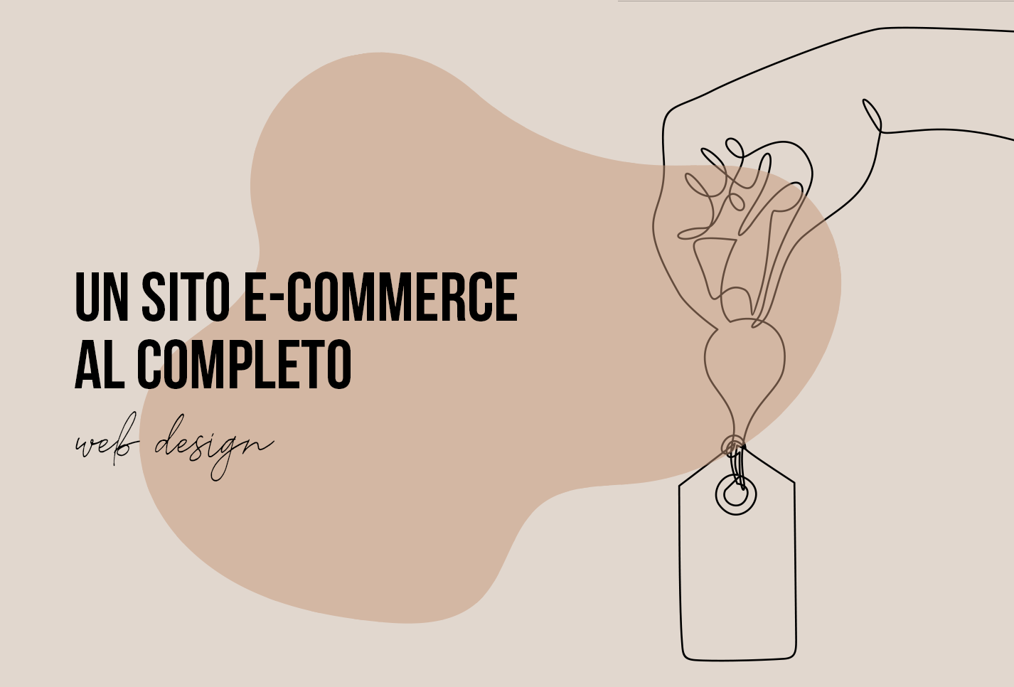 Un sito e-commerce al completo